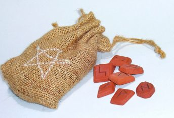 Casting Runes to Give a Psychic Reading